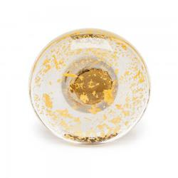 Gt19   Gold Kyoto Glass Curtain Tieback image