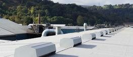 Roof mounted natural exhaust ventilators specifically designed to fit along a building ridgeline. Units can be sited along the ridge as single units or joined together to form continuous runs.  Options include shut off dampers, bird guards together with fire a...