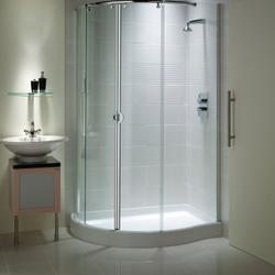 Mirage Curved Corner with Integrated Shower Tray image