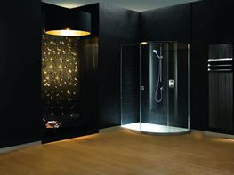 Radiance Curved Offset with Integrated Shower Tray image