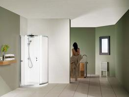 Colonade Curved with Shower Tray image