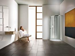 Radiance Curved with Integrated Shower Tray image