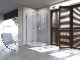 Illusion Quintesse with Integrated Shower Tray - Matki Showering
