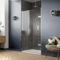EauZone Plus Hinged Door from Wall and Inline Panel for Recess image