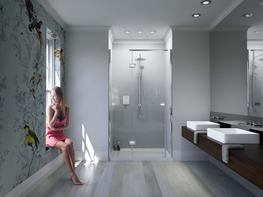 Illusion for Recess with Integrated Shower Tray image