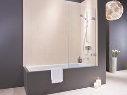 EauZone Plus Wall Hinged Bath Screen image