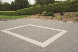 Hard-wearing Plaza Paving in Slate offers dark, even colouring, consistent granite texture and a crisp outline that fits smoothly into contemporary schemes. Combine with Silver to create bespoke paving pattern and contrast. ...
