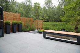 Extremely hard-wearing, and requiring virtually no maintenance, Blue Grey Granite Paving has a flamed texture with a consistent tight grain and charcoal-grey colour that work well in contemporary designs, where it offers a reliable, economical alternative to m...