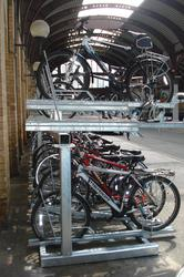 Cycle Rack   Two Tier Two Tier Cycle Parking image