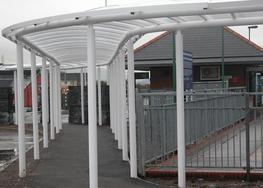Walkway Canopy Canopies - Lockit Safe Ltd