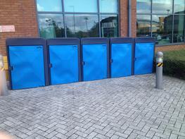 Plastic Cycle Lockers Cycle Lockers - Lockit Safe Ltd