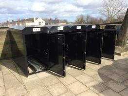 SMART Cycle Lockers Cycle Lockers image