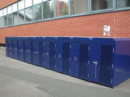 Secure Cycle Lockers ( Rail Industry ) Cycle Lockers image
