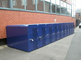 Secure Cycle Lockers ( Rail Industry ) Cycle Lockers - Lockit Safe Ltd