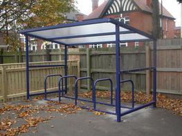 Small Bespoke Cycle Shelters Bespoke Cycle Shelters image