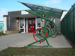 Javelin Cycle Shelter Bespoke Cycle Shelters image