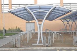 Large Bespoke Cycle Shelters Bespoke Cycle Shelters image