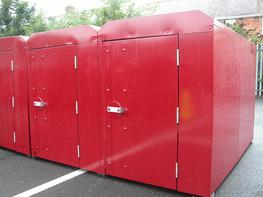 Double Cycle Locker Cycle Lockers image