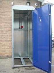 Single Cycle Locker Cycle Lockers - Lockit Safe Ltd