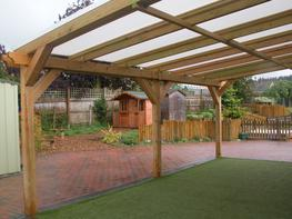 Wooden Outdoor Outdoor Classrooms image