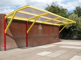 Cantilever Waiting Shelter Waiting Shelters image
