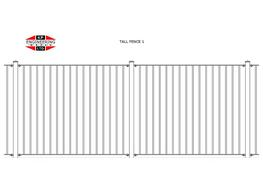 TALL FENCING image