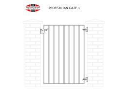 SINGLE LEAF SHORT GATES image