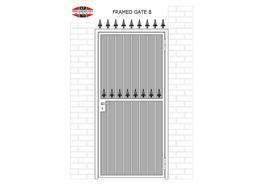 SINGLE LEAF FRAMED GATES - KP Engineering Works Ltd