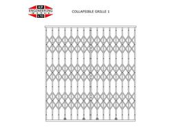 COLLAPSIBLE SECURITY GRILLES image