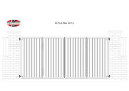 BI-FOLD GATES TALL image