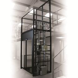 250-500kg Fully Enclosed & Self Supporting Mezzlift image