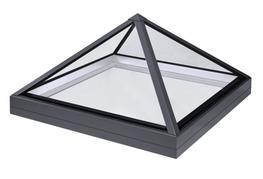 Our pyramid rooflight uses the same technology as our lantern rooflight which means it has no internal hip framework ensuring that the maximum amount of natural light is able to penetrate the room beneath. Not only does this give a more contemporary appearance...