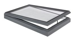 Our high performance opening rooflights are available to open manually or by electric control. Manually opening rooflights are fitted with a chrome screwjack which is operated using a separate winding pole. Electrically controlled rooflights are opened by 24v ...