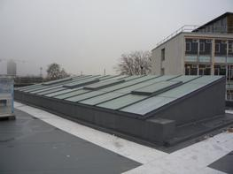 AL200 Continuous Skylight by Duplus Architectural Systems Ltd