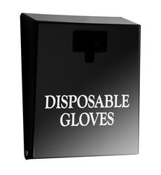 Classic Black Glove Dispenser image
