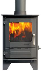 Woodburning Multifuel stoves So you can enjoy the dancing flames of the Dunsley Highlander Solo Stoves even more, we have developed the SG RANGE to give a larger window. Available on the 5, 8 and 10 models the square window doors still provide the same outputs...
