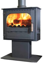 Enviro-burn combustion and airwash supply mean a clear view of the flames. ALL NEW! The new Highlander 5 Enviroburn Pedestal has been designed to be the focal point of your home. It includes all of the features of the standard Enviroburn model and a large wind...