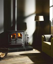 WThe Highlander 10 Woodburning Multifuel stove is a wide version of the popular highlander 8 stove, with the same burning control system but nearly 100mm wider than the 8 and with a fuel box area to take logs up to 550mm long, this makes the highlander 10 more...