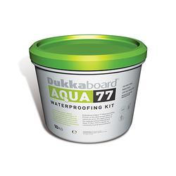 Ideal for waterproofing substrates in bathrooms, showers and saunas, before laying ceramic, porcelain and natural stone tiles.  Complete kit including components needed to develop total water-resistance under positive thrust, guaranteeing the protection of abs...