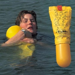 The Glasdon B–Line™ Throw Line Rescue Buoy is a lightweight water rescue device. The streamlined design of the B-Line means it can be thrown further and more accurately from vertical or horizontal positions, thus increasing the chances of a successful resc...