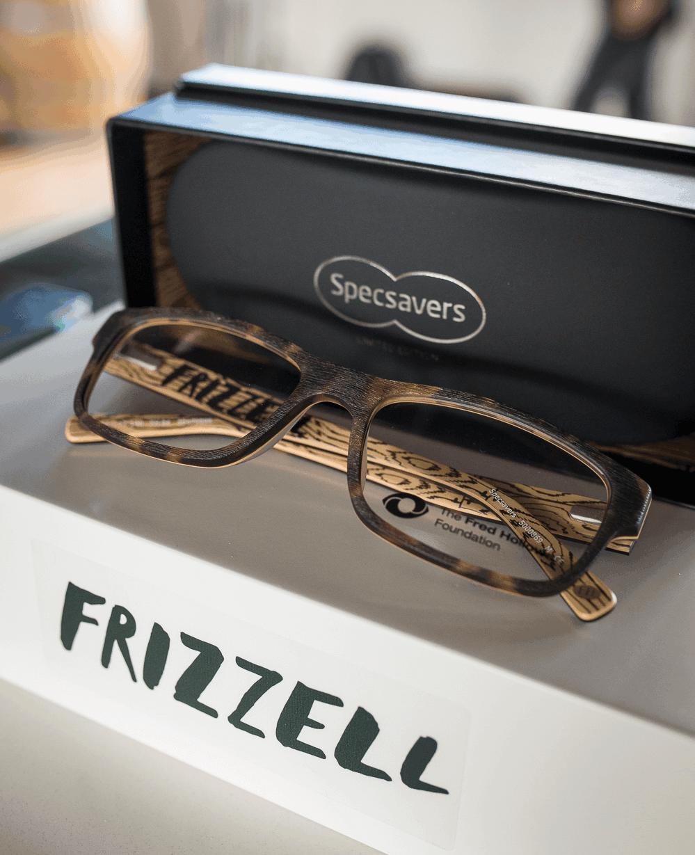 Frizzel frames glasses package