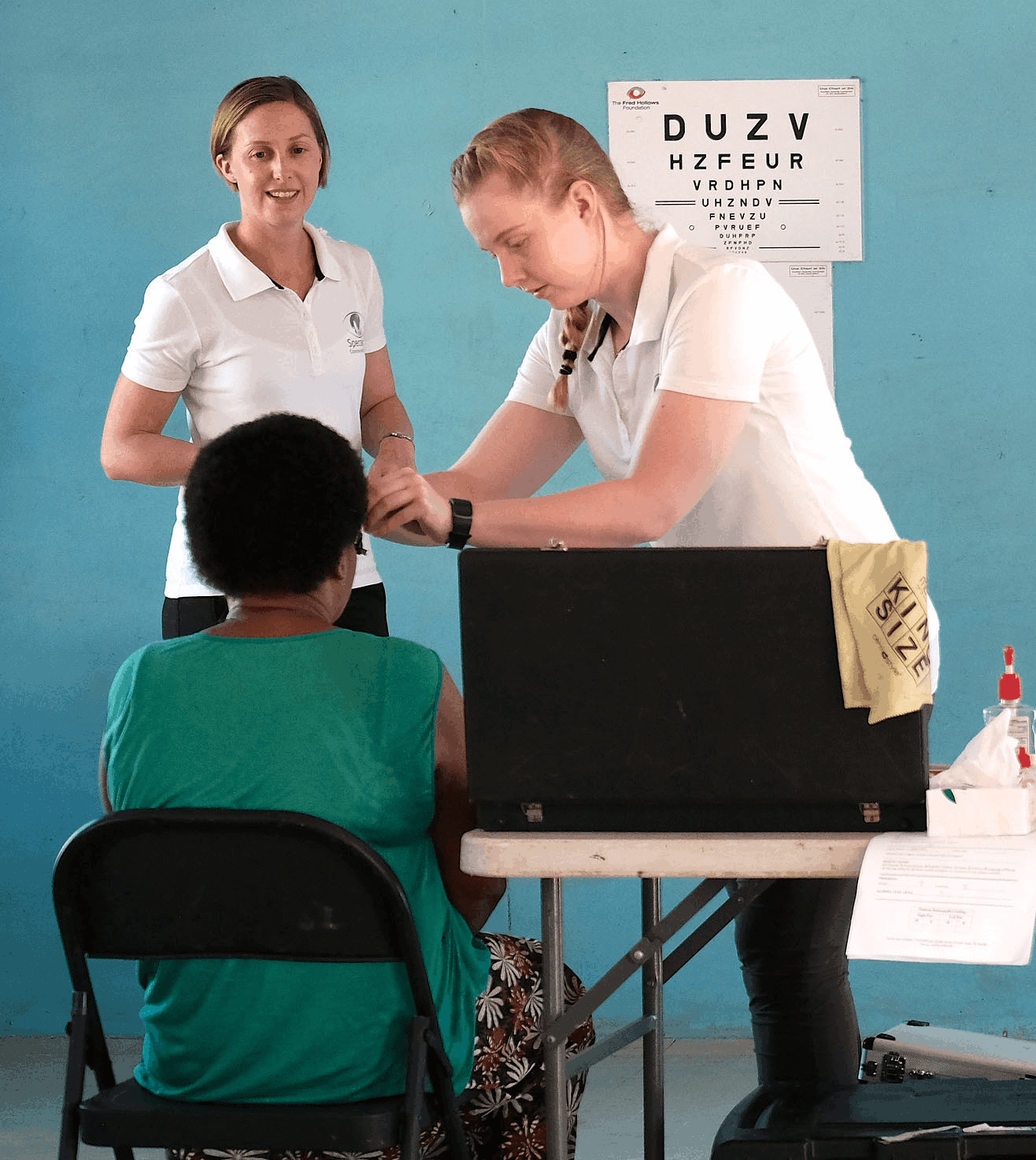 Specsavers outreach in Lautoka Fiji