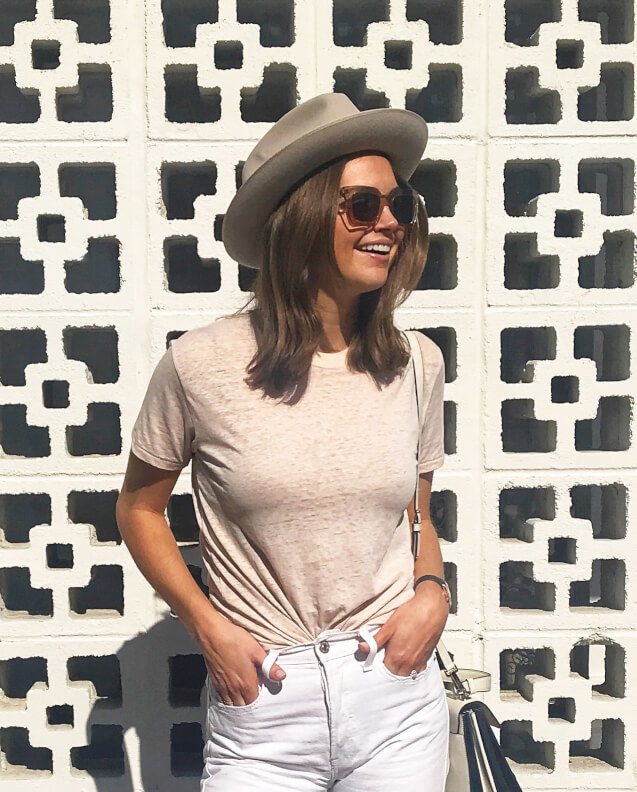 Ksenija wears Ellery Sun RX 09