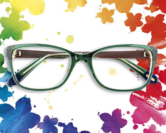 793c1ca62c49 Coloured statement glasses  chasing rainbows