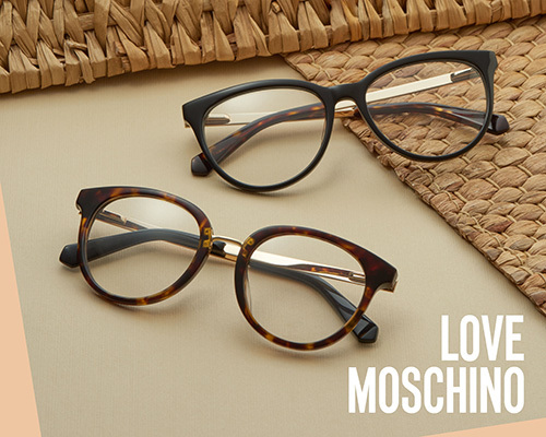 e61e8506fd New range of Love Moschino glasses