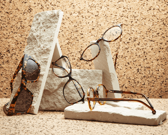 Autumnal Tones Glasses Collection
