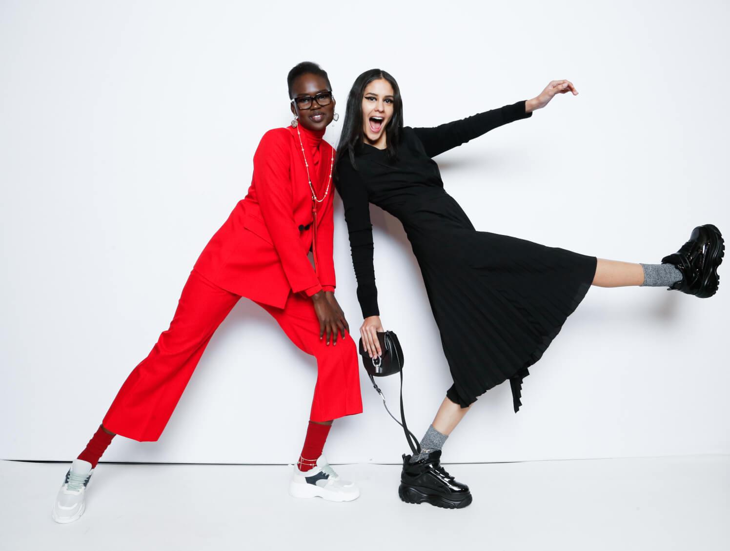 Melbourne fashion week backstage