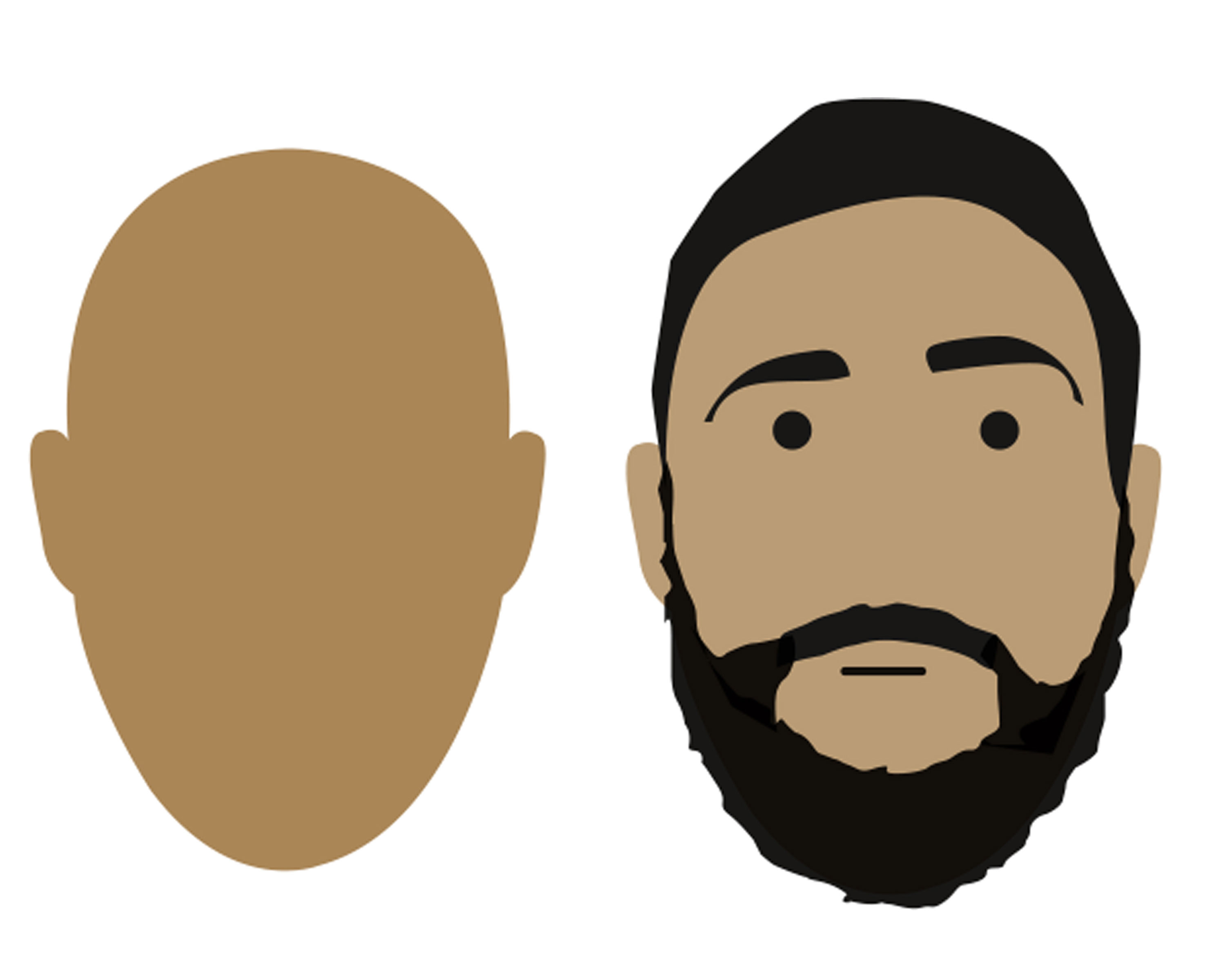 Beard translucent. How to choose the