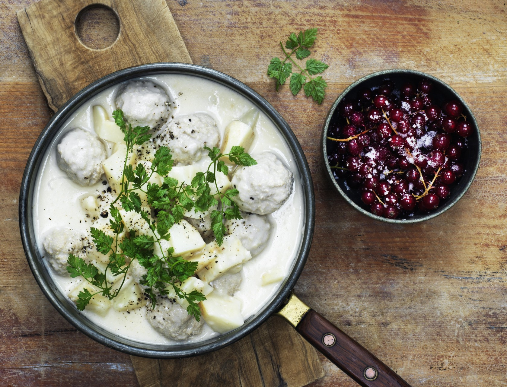 Boller i selleri – dansk mad når det er bedst!