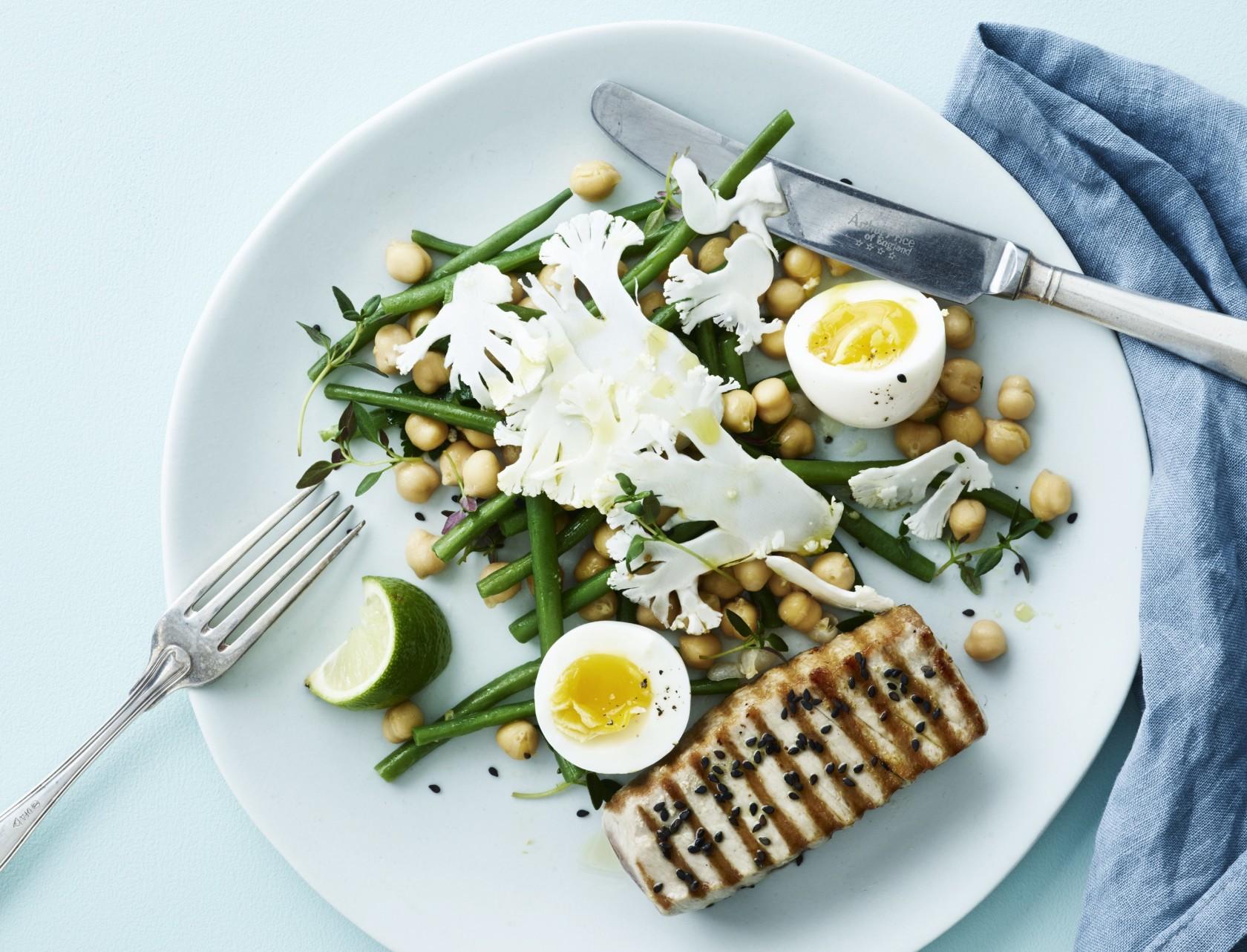 Tun a la nicoise - et lækkert tvist af den kendte salat nicoise